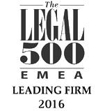 The Legal 500 EMEA 2016